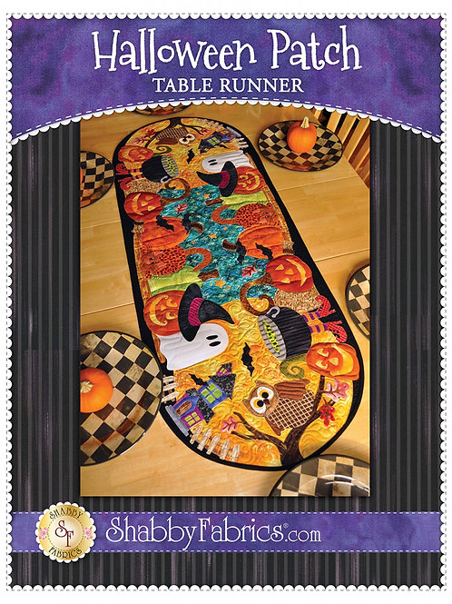 Halloween Patch Table Runner Pattern