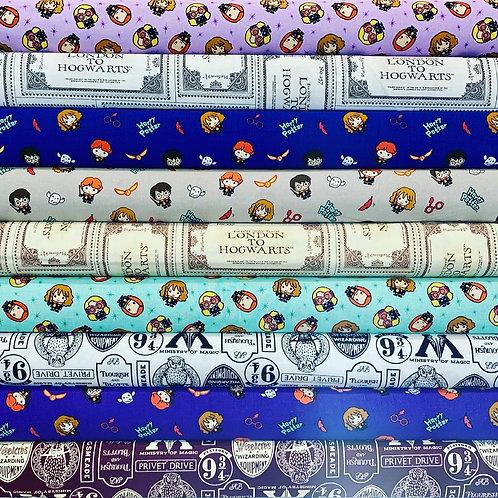 Harry Potter Fat Quarter Bundle x 10 pieces