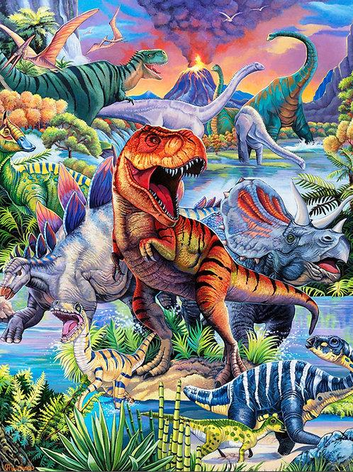 Dinosaur World Panel