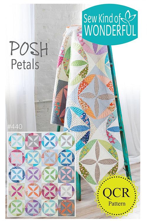 Posh Petals Quilt Pattern