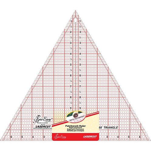 Sew Easy 60 Degree Triangle Ruler