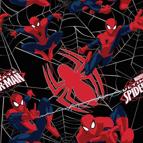 FLANNEL - Spiderman Fabric