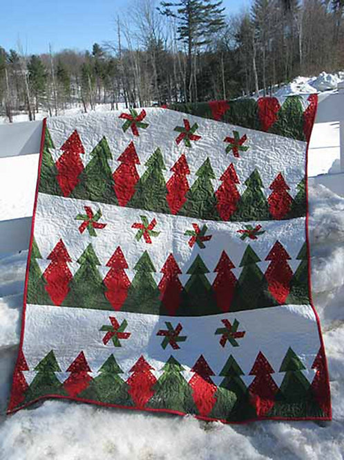 Pine Ridge Throw Pattern