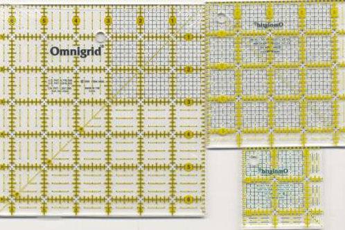 Omnigrid Mini Square Ruler Set