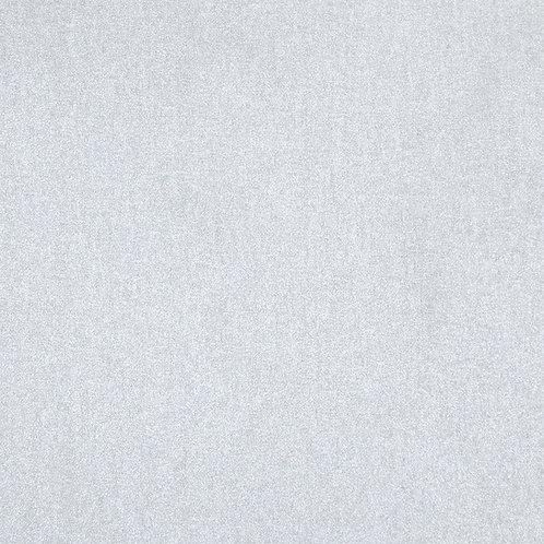 Stof Shiny Silver Fabric - Metallic