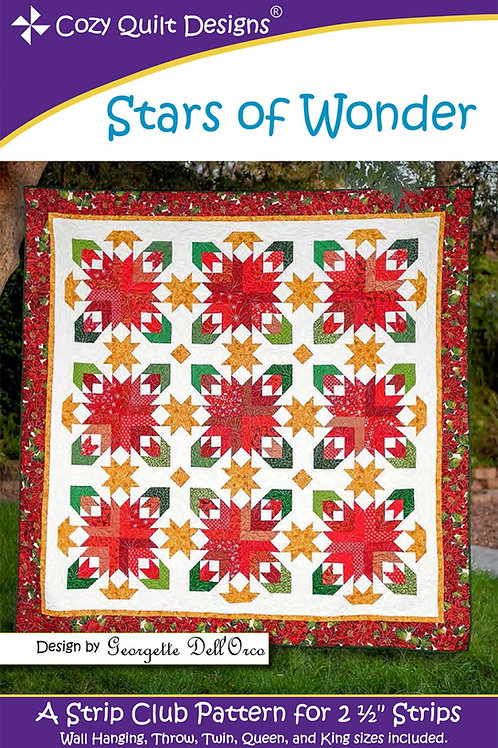 Cozy Quilt Designs Stars of Wonder Quilt Pattern