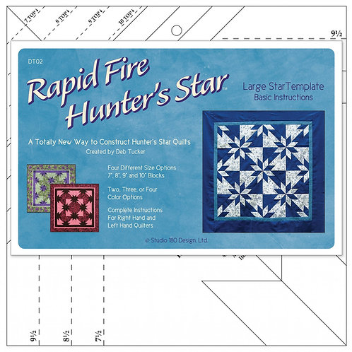 Rapid Fire Hunter's Star Template Large