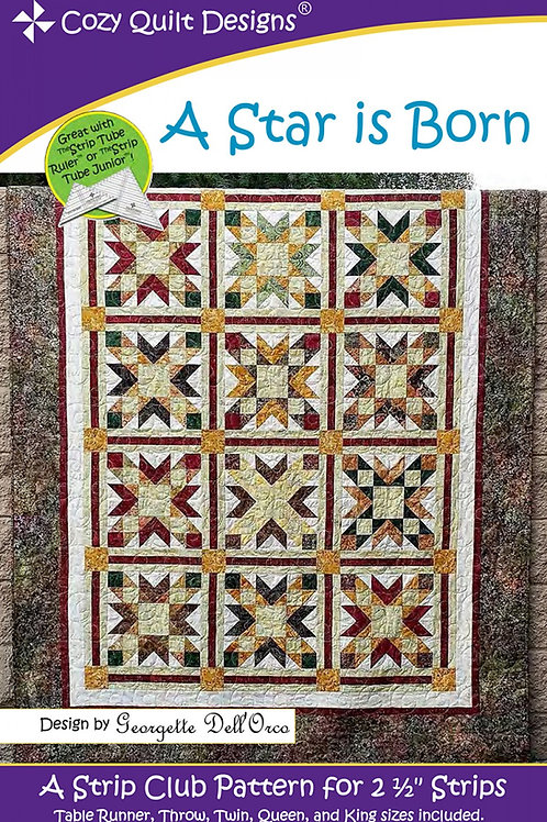 Cozy Quilt Designs A Star is Born Quilt Pattern