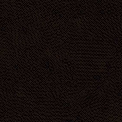 1867/N9 Noir Brown Makower Andover Dimples Fabric