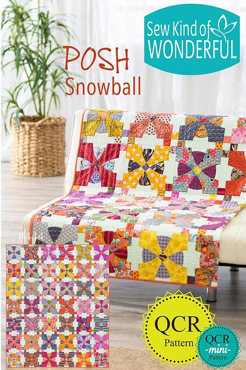 Posh Snowball Pattern