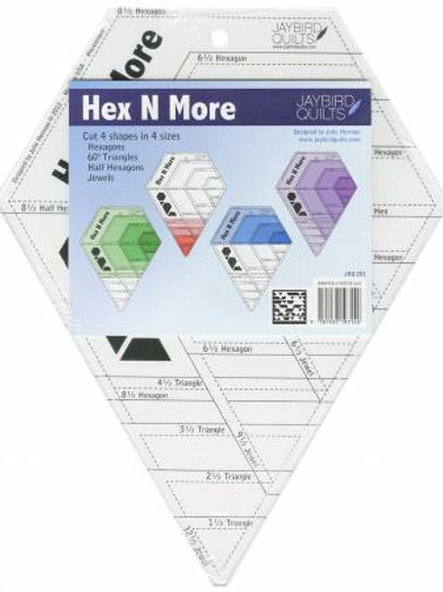 Hex N More Ruler From Jaybirds Quilts