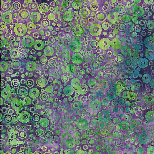 Island Batik Mystery - Circles - Urchin