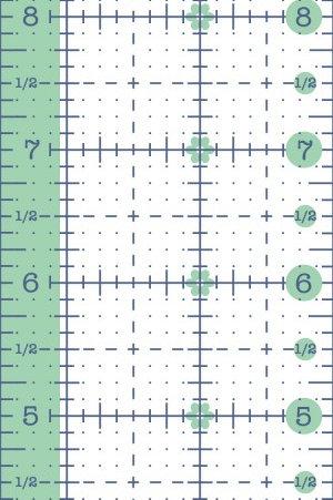 "Riley Blake 2.5"" x 12.5"" ruler"