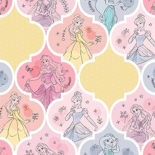 Disney Pretty Princess Patch Fabric