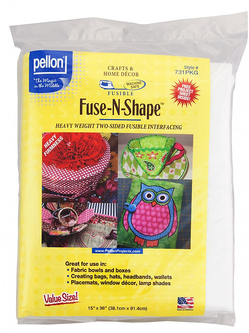 Pellon Fuse N Shape Double Sided Firm Interfacing Heavy 15in x 36in