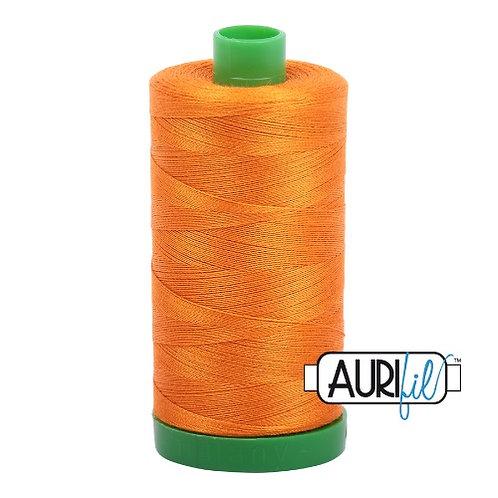 Aurifil 40 1000m 1133 Bright Orange Cotton Thread