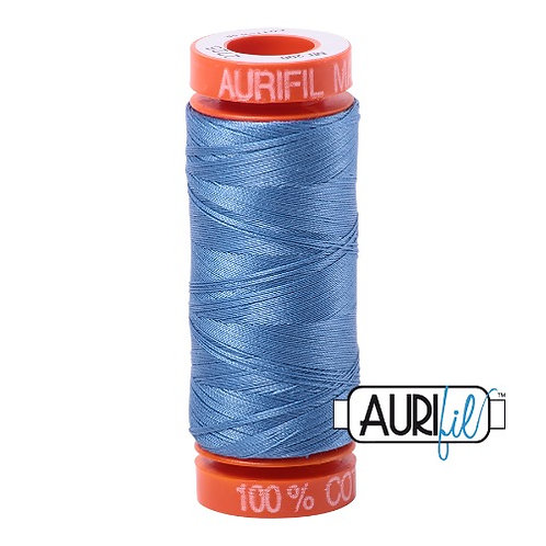 Aurifil 50 200m 2725 Cotton Thread Light Wedgewood