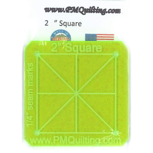 """PM Quilting 2"""" Square Template"""