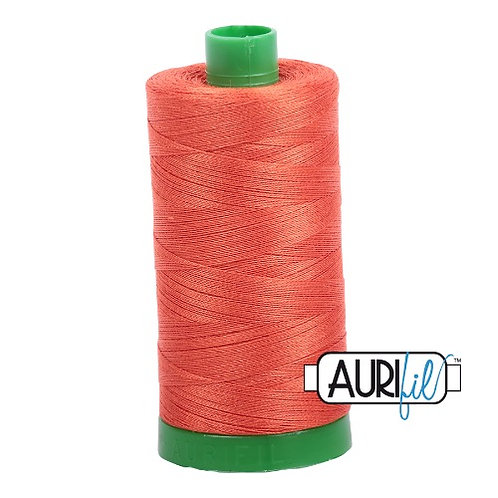 Aurifil 40 1000m 1154 Dusty Orange Cotton Thread