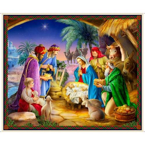 The Nativity Christmas Panel