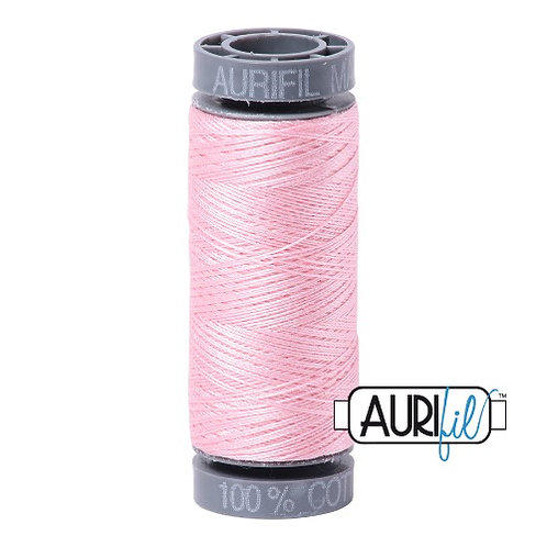 Aurifil 28 100m 2423 Pale Pink Cotton Thread