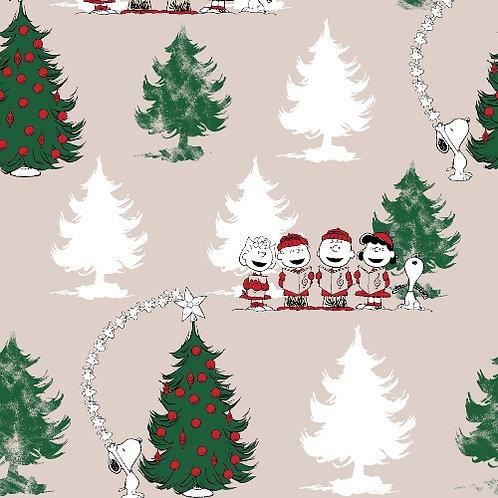 Happy Christmas Snoopy Christmas Fun Fabric