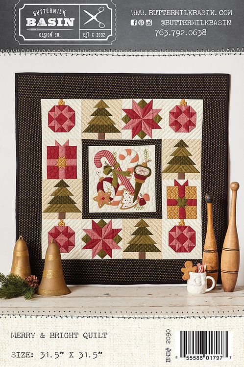 Merry and Bright Quilt Pattern