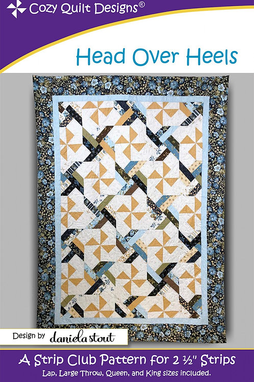 Cozy Quilt Designs Head Over Heels Quilt Pattern
