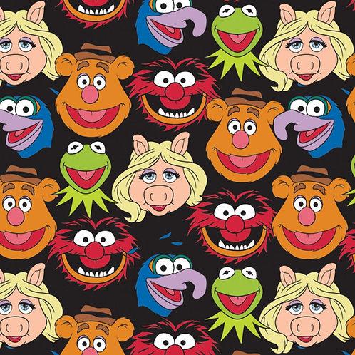 Disney The Muppets Cast Fabric - Black