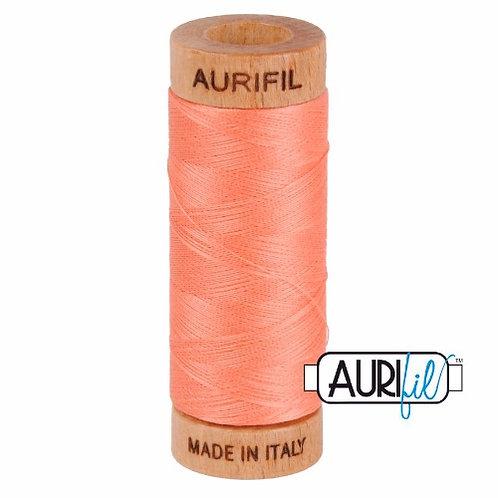 Aurifil 80 280m 2220 Light Salmon Cotton Thread