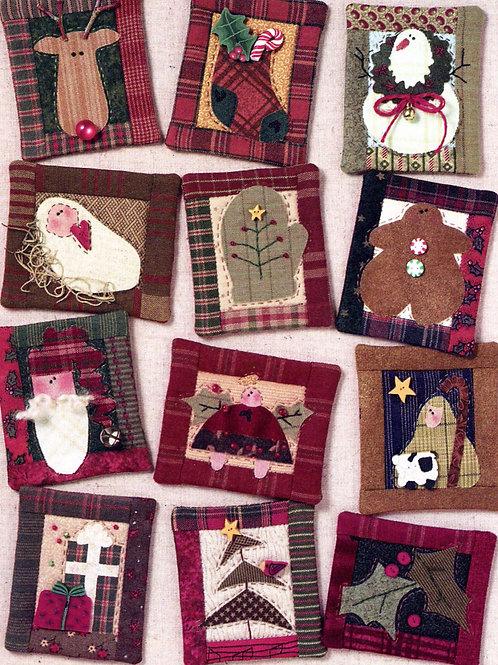 Christmas Pin Ups Pattern