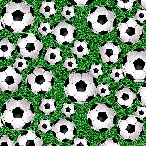 Born to Score Football Fabric