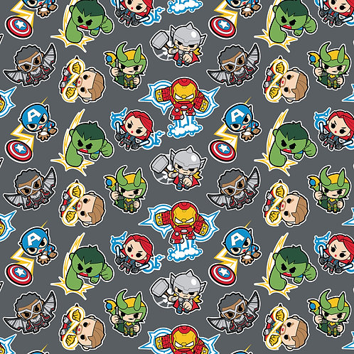 Marvel Mini Heroes Action Fabric