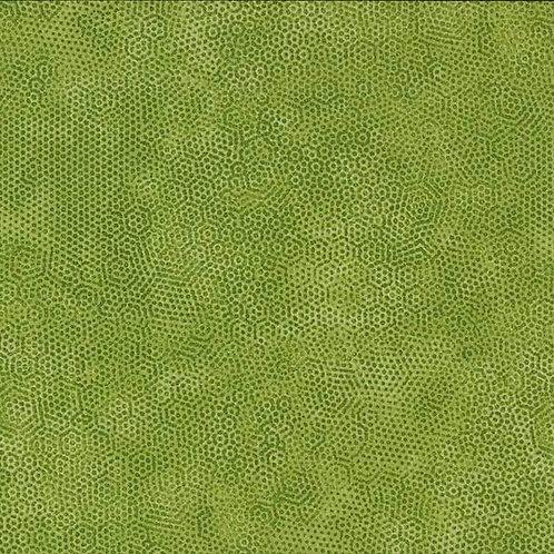 1867/VL Olivine Makower Andover Dimples Fabric