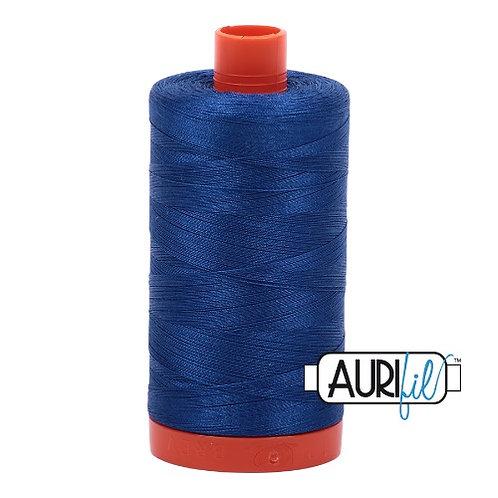 Aurifil 50 1300m 2740 Dark Cobalt Cotton Thread
