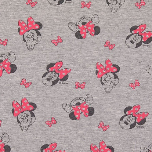 Minnie Mouse French Terry Fabric