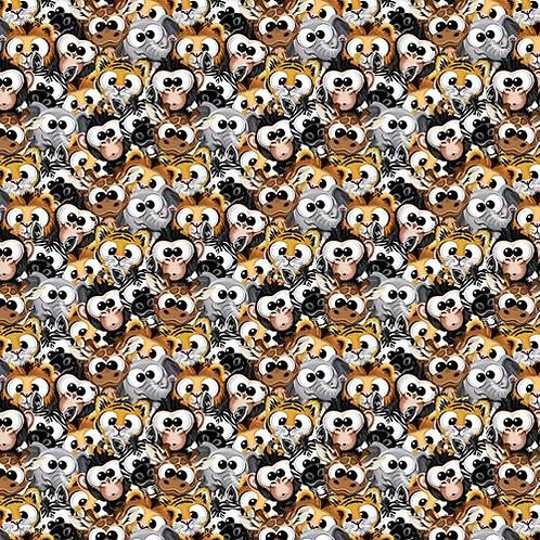 Cute Plush Amimals Fabric