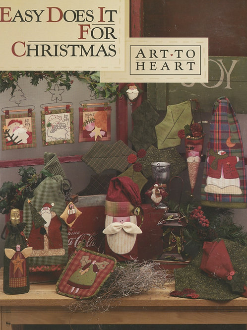 Easy Does It For Christmas Pattern Book