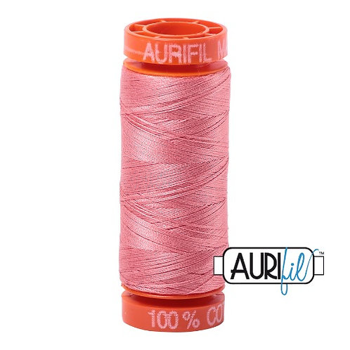 Aurifil 50 200m 2435 Cotton Thread Peachy Pink