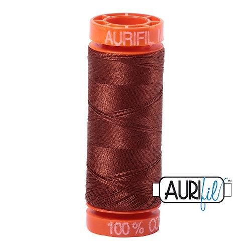 Aurifil 50 200m 4012 Cotton Thread Copper Brown