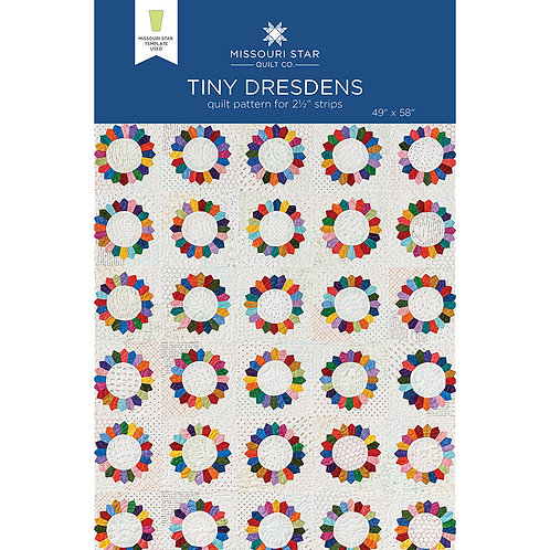 Missouri Star Tiny Dresdens Pattern