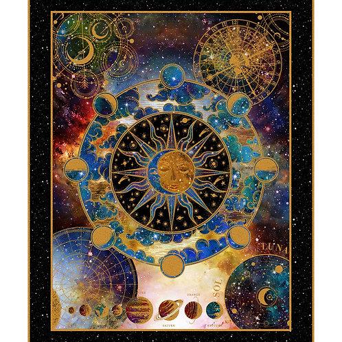 Cosmos Fabric Panel