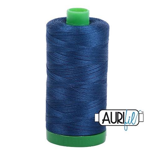 Aurifil 40 1000m 2783 Medium Delft Blue Cotton Thread