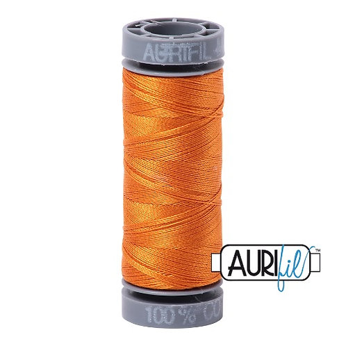 Aurifil 28 100m 1133 Light Pumpkin Orange Cotton Thread