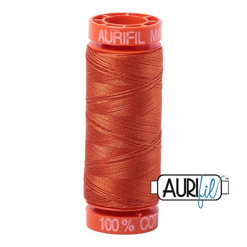 Aurifil 50 200m 2240 Cotton Thread Rusty Orange