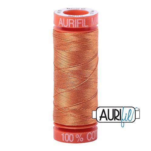 Aurifil 50 200m 5009 Cotton Thread Medium Orange