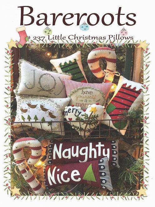 Bareroots Little Christmas Pillows Pattern
