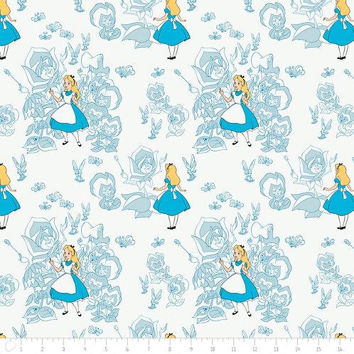 LP Alice in Wonderland Fabric