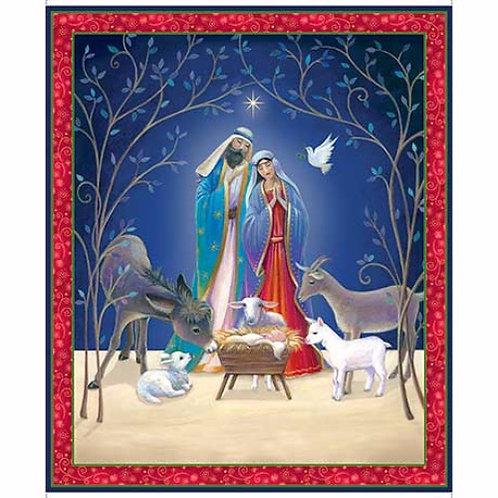 Nativity Christmas Panel