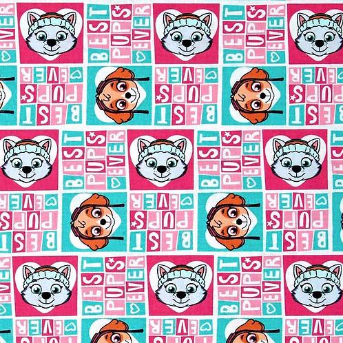LP Paw Patrol Girl Pup Power Fabric
